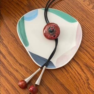 Boho Ceramic Necklace